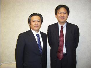 JIADSの松井徳雄先生との1枚。